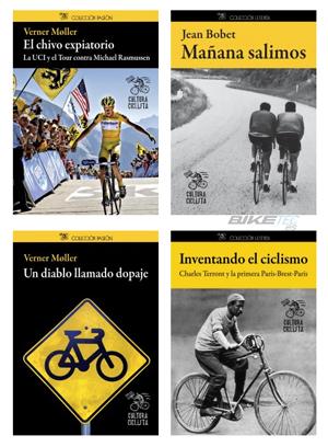 bienvenida a la editorial cultura ciclista